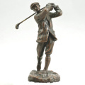 Estátua de Bronze de Harry Vardon Golf à venda