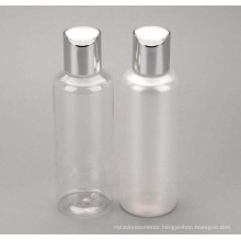 150ml Pet Plastic Cream Bottle with Screw Cover