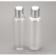 Frasco de creme de plástico para animais de estimação 150ml com tampa de rosca