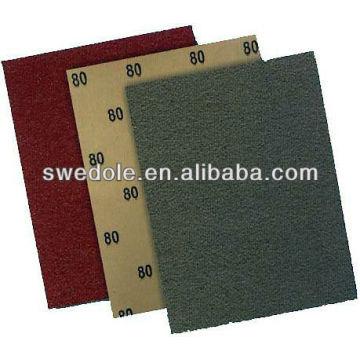 Papier abrasif imperméable de haute qualité avec MPA