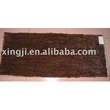 Natural brown color Mink Belly Plate