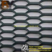 Malha de metal expandido de alumínio revestido em pó de alta qualidade