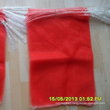 wholesale small pe mono mesh bags for ginger