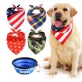 4 pièces bandana pour chien lavable