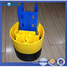 Garde de colonne en plastique facile à assembler