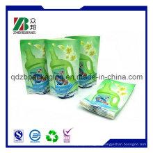 Promotion Stand-up Verpackung Kunststoff von Waschpulver Tasche (ZB266)