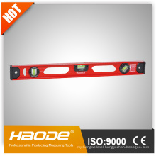 Heavy duty I-beam aluminium spirit level