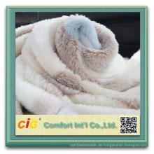 Polar Fleece Stoff / Koralle Fleece Stoff für Kleidungsstück