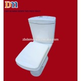 DMT-56 Two piece toilet S-trap wash down 220mm