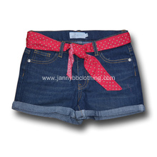 custom children denim shorts