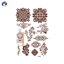 YinCai conceptions simples de henné de mandala