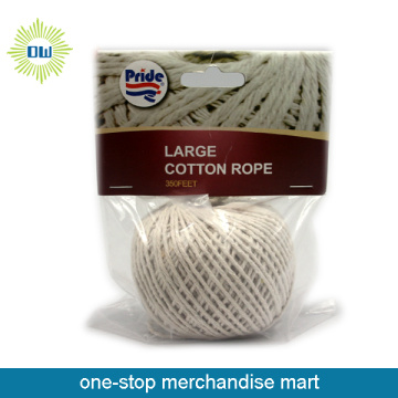 soft braided cotton rope