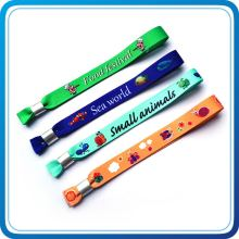 Promotional Giveaways Polyester Material Event Bracelet