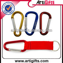 Anodize colorful aluminum carabiner