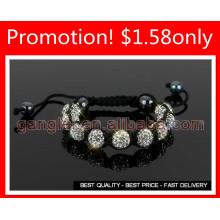 shamballa clay bracelet