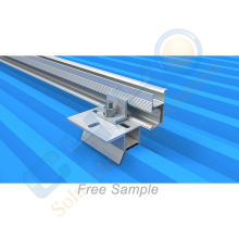 OEM aluminum roof clamp Solar Racking Metal Roof Clamps Trapezoidal Metal Roof Clamps