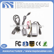 USB 2.0 TO SATA IDE Hard Drive Adapter Converter Cable 480Mbps transfer rate