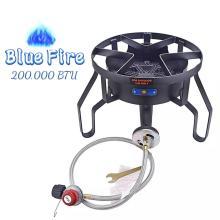 200000BTU Portable Cast-Iron Camping Outdoor Burner Stove