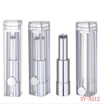 Crystal Rectangle Clear Lipstick Container Empty