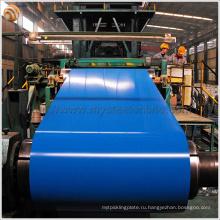 Крыша черепица Используется Prepainted оцинкованная стальная катушка от Huaxi Group Jiangsu Factory