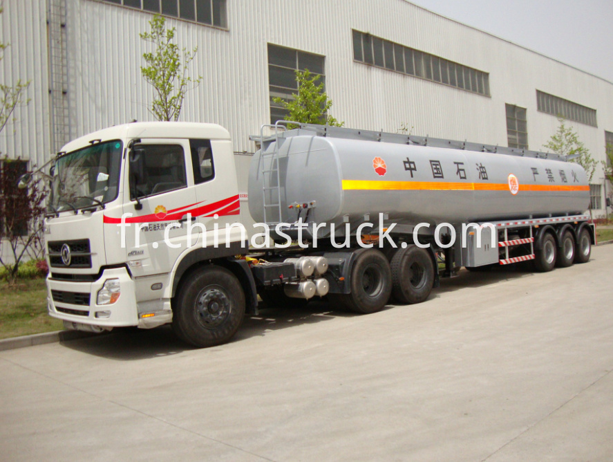 Dongfeng Premier mover with 40000 liters fuel tanker trailer