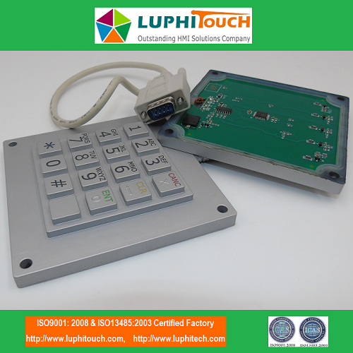 Silicone Rubber Keypad Wraping PCBA Boarder Waterproof with HDMI Cable Integrated Assembly