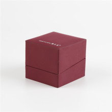 Flip Type Small Cardboard Jewelry Gift Box