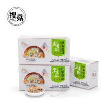 Chinese flavor freeze dried instant mushroom and okra soup