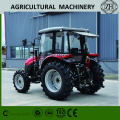 Operasi Mudah 70HP 4 Wheel Drive Farm Tractor With Cab