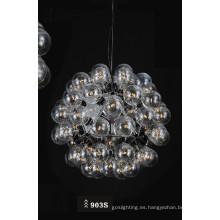 Moderna lámpara colgante de acero inoxidable E27 (903S)