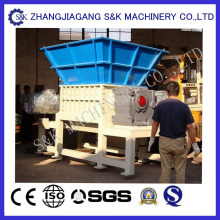 Film plastique Big Bags Double Shaft Shredder
