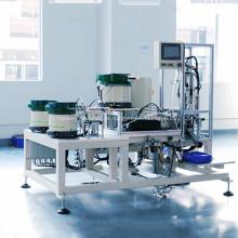 Sistema de produção de linha de montagem de maçaneta