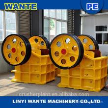 Weit verbreitete Goldmine Zerkleinerungsmaschine Backenbrecher Preismaschine zum Verkauf