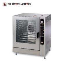 Бренд 1470-2 Китай Промышленное Хлебопекарное Оборудование Электрический 10-Лоток Пароконвектомат
