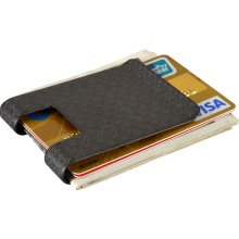 Stylich carbon fiber money clip