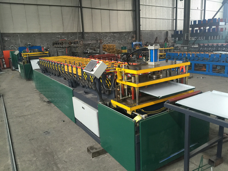 Plate Roof Sheet Rolling Forming Machine