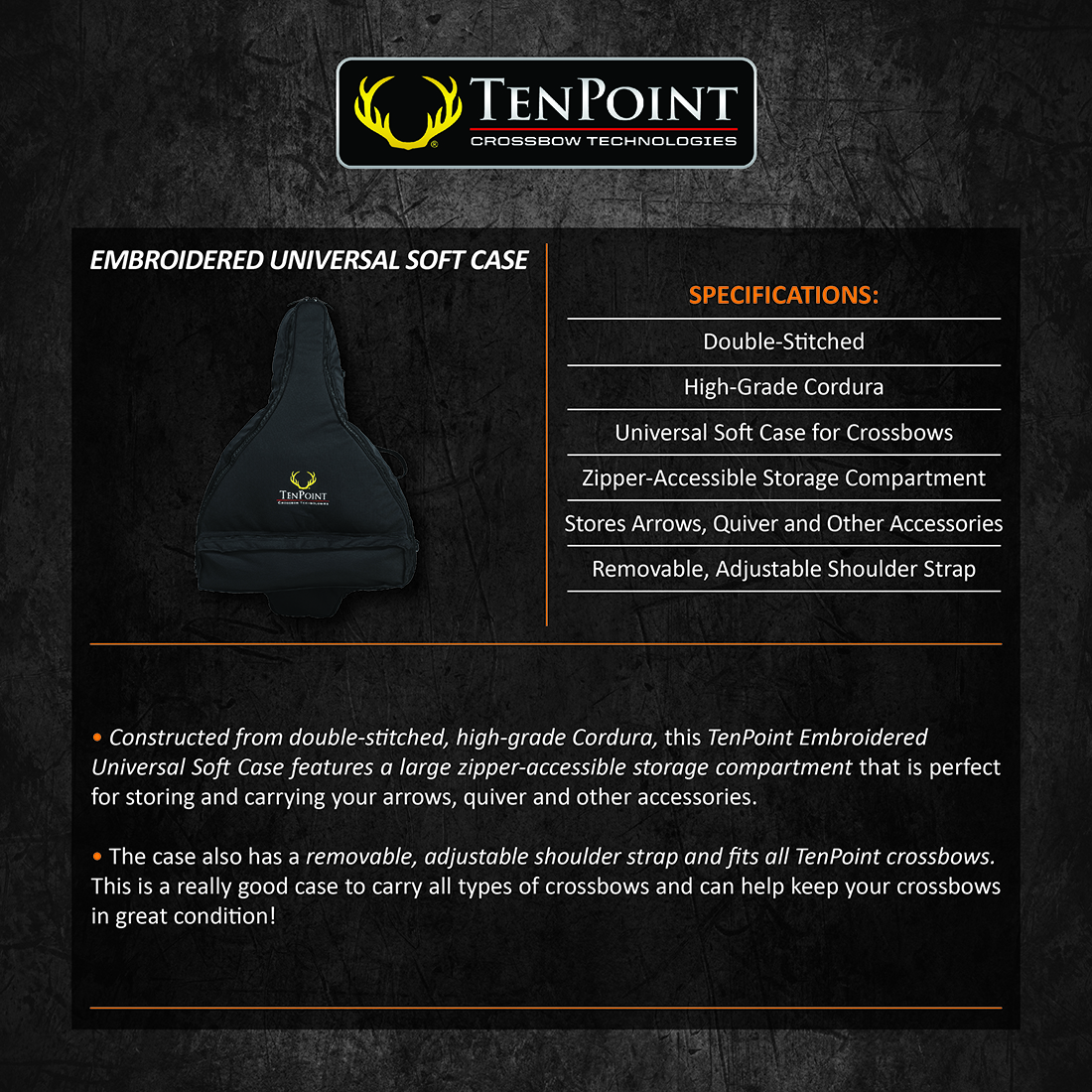 TenPoint_Universal_Soft_Case_Product_Description