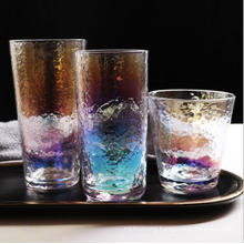 Custom Printed Colored Tritan Etched Stemless Sublimation Flat Bottom Wine Tumbler Glass Cup for Restaurant Party