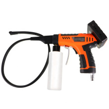 telescopic snake camera remote control cleaning camera for video inspection