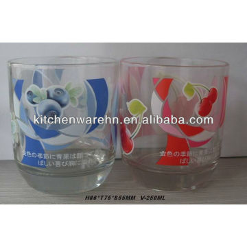 Haonai Glass Wholesale Heat transfer label on glass