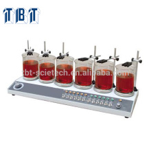 T-BOTA HJ-6A Multi-unidade termostática seis cabeças agitador de agitador magnético de display digital agitador