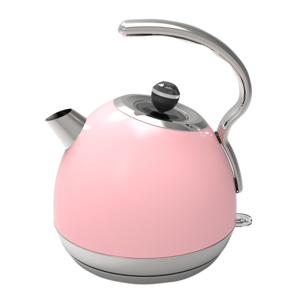 Painting Pink Electric Kettle