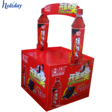 Supermarket Products Promotional Durable Cardboard Dump Bin Display