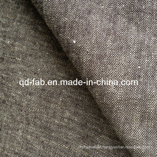 Cotton/Linen/Spandex Denim Fabric Jean Fabric (QF13-0733)