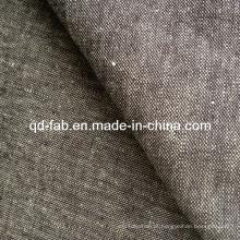 Algodão / Linho / Spandex Denim tecido Jean tecido (QF13-0733)