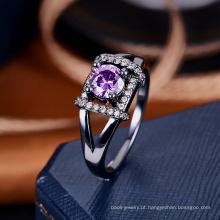 China atacado anel mulheres jóias amostra projetos de anel de casamento