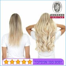 "Straight 20"" Brazilian 100% Human Virgin Remy Hair Extension Clip Hair"