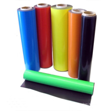 Ímã de borracha flexível colorido com PVC colorido