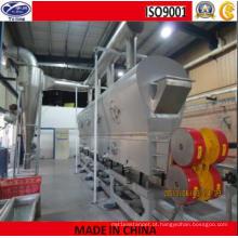 Máquina de secagem de leito fluidizado vibratório de cloreto de colina
