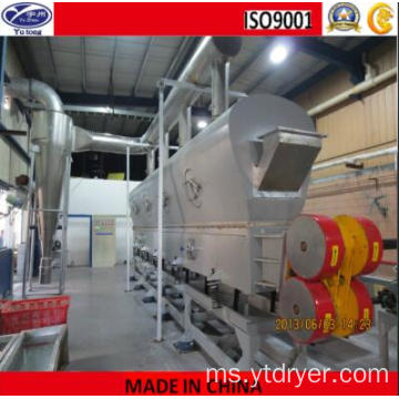 Granules Cold Vibrating Bed Drying Machine